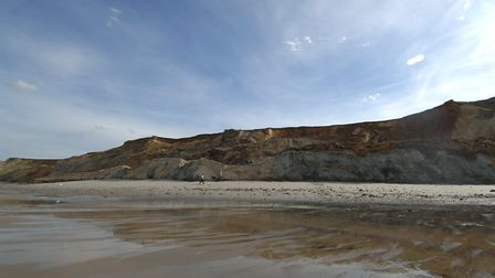 Sidestrand beach, where the latest mammoth discovery was made. Picture: Angela Sharpe