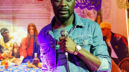 Nelson Gombakomba from Norwich will perform at an upcoming stand-up comedy night in North Walsham. P