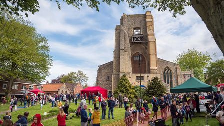 Part of the fun at the North Walsham Children's Day 2019. Picture: JOHN NEWSTEAD