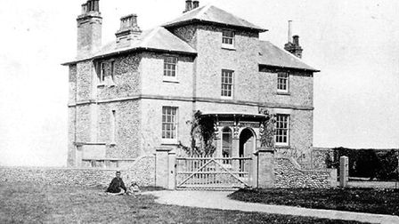 North Lodge in Cromer's North Lodge Park before 1886, when the east wing added . Picture: COURTESY O