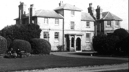 The North Lodge at Cromer's North Lodge Park in the 1920s, before its sale to Cromer Urban District