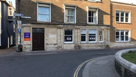 The new EACH shop in the former Barclays bank branch in Tucker Street, Cromer. Picture: EACH