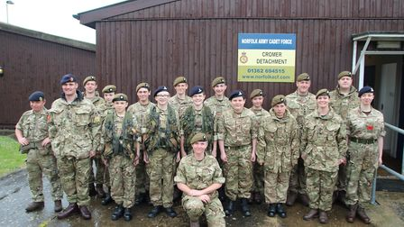 Cadets at the Cromer Army Cadet Force (AFC) are hoping for a bright future after the reopening of th