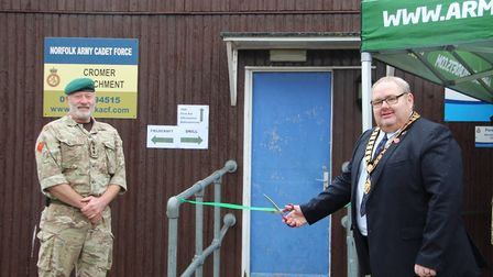 The Cromer Army Cadet Force (ACF) detachment held a reopening ceremony at Cromer Academy, attended b