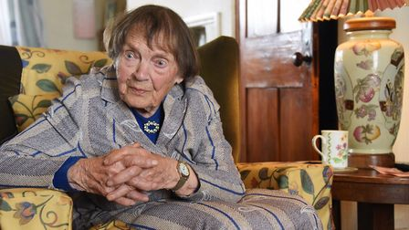 Gertrude Raven of Cawston who is soon to celebrate her 103rd birthday. Picture: DENISE BRADLEY