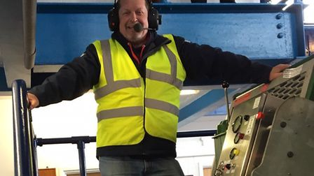 Paul Russell has reached the milestone of 250 slipway recoveries of all-weather lifeboats. Picture: