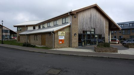 The Aylsham Care Trust building, which hosted the meeting. Picture: MARK BULLIMORE