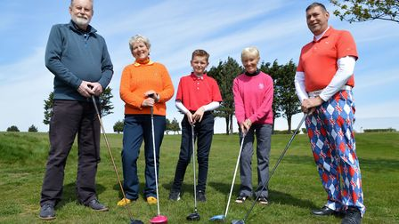 All ages and abilities of golfers at Mundesley Golf Club are looking forward to fun in the new Golf