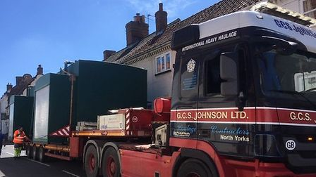 Villagers in Cawston are urging wind farm firms not to send hundreds of lorries through their street