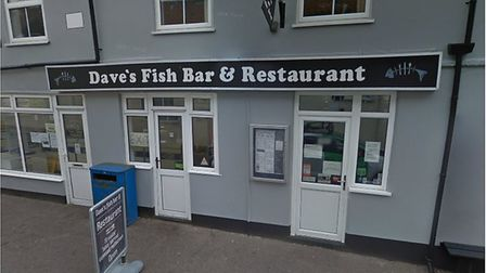 Fire crews were called to Dave's Fish and Chip Restaurant in Sheringham. Picture: Google Maps