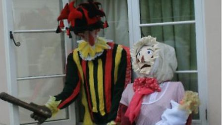 Trunch fun day and scarecrows. Pictures: supplied by Mike Tyler