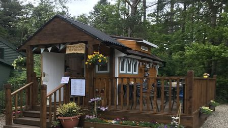 Hetty''s tearoom has opened in Holt Country Park.Picture: NNDC