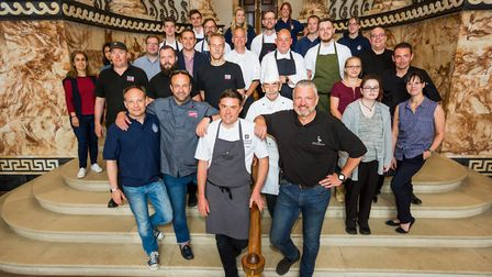 Chefs and members of the hospitality industry in Norfolk gathered at a charity dinner for Hospitalit