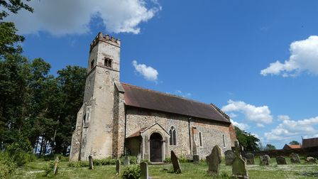 Oxnead church. Picture: M CHAMPION