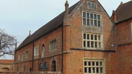 The once-great Paston mansion of Oxnead Hall, where the memorial to the previously unknown Anna Past