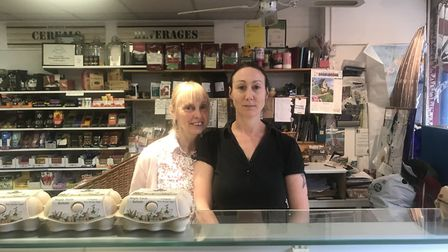 Mary Stocks and Joanna Mitchell, co-owners of All Natural Co, one of the businesses affected by the