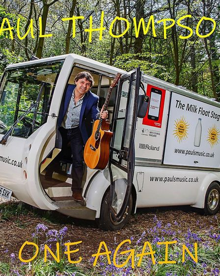 Paul Thompson will perform at Mundesley on Show. Pictures: supplied by Kathryn Moore