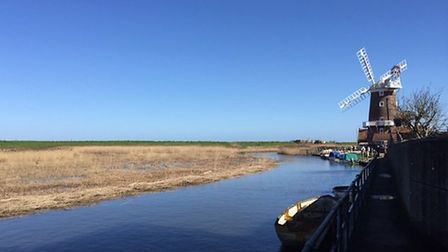Cley Harbour. Pictures: Cley Open Gardens