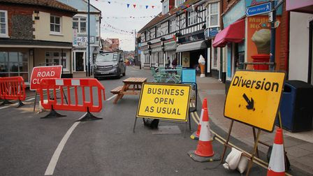 Sheringham High Street is open for business as usual.Picture: KAREN BETHELL