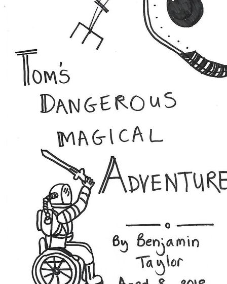 The front cover of nine-year-old Ben Taylor's book, which is available to download at www.betterlife