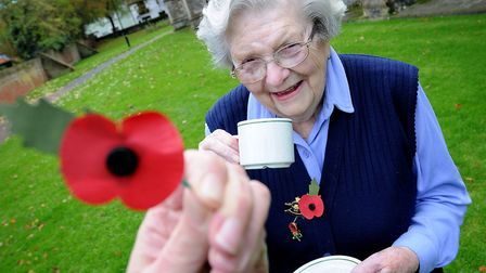 North Walsham Royal British Legion Women's Section are appealing for more members. Pictured at their
