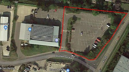 The proposed site for a new McDonald's restaurant in Cromer. Pictures: Planning documents