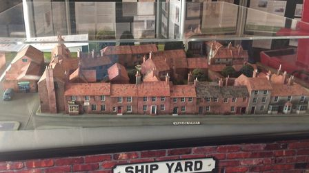 Ship Yard model at North Walsham museum. Picture: David Bale