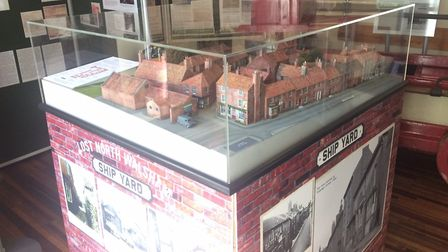 Ship Yard model at North Walsham's heritage museum. Pictures: David Bale