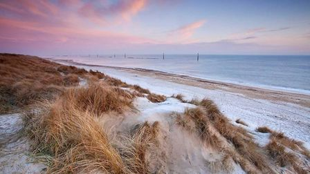 Sea Palling named one of top 10 beaches by Condé Nast Traveller. Picture: CNTraveller