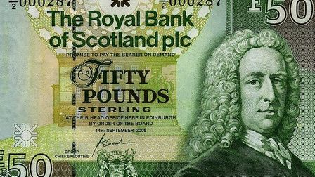 Police have issued a warming afte a man tried to use a fake £50 note. Picture: Norfolk Police