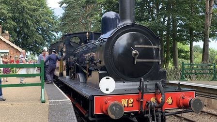 The North Norfolk Railway's Class Y14 locomotive at Holt Station. Picture: Stuart Anderson