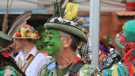 Sheringham Potty Morris and Folk Festival, which attracted more than 40 dance sides and hundreds of