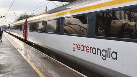 A Greater Anglia train. Picture: Sonya Brown