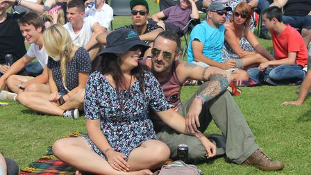 Rock Bodham music festival, which runs on the village playing fields on Norfolk Day.Picture: KAREN B