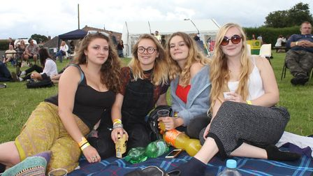 Rock Bodham music festival which has been timed to coincide with Norfolk Day.Picture: KAREN BETHELL