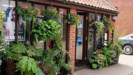 Aylsham In Bloom traders' competition. Richards Hair Design received a Highly Commended certificate.