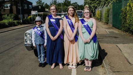 The 'royal family' of the North Walsham Funday 2019. Picture: Andrea Hudson Photography