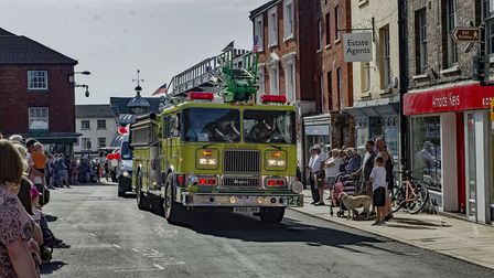 A scene from the parade at the North Walsham Funday 2019. Picture: Andrea Hudson Photography