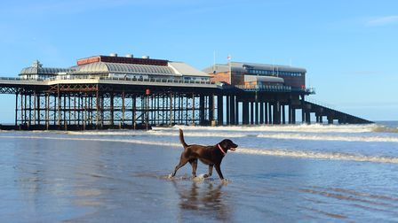 A documentary is being filmed on Cromer Pier. Picture: Ian Burt