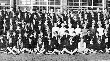 Cromer Secondary Modern line-up in 1959. Pictures: Cromer Academy