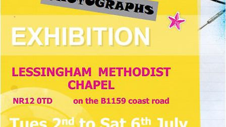 Lessingham exhibition poster. Picture: supplied by Maurice Gray