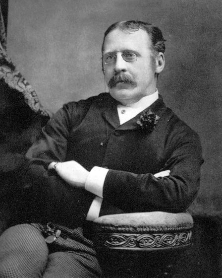 Clement Scott, whose writings about Poppyland fuelled a Victorian visitor explosion and made North N