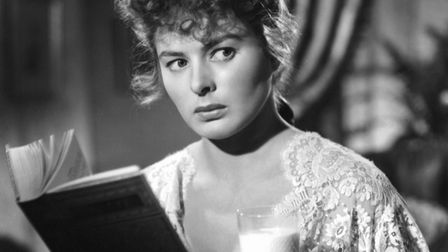 Ingrid Bergman in a scene from the 1944 film Gaslight, which was based on Patrick Hamilton's play. P