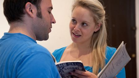 Rehersals for a production of Gaslight at Sheringham Little Theatre. Picture: Archant library