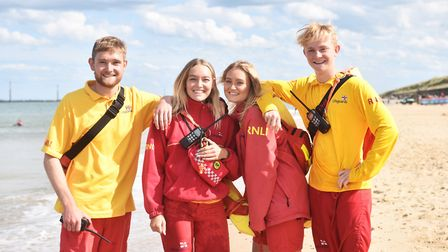 Flashback to last summer when siblings George, Emma, Laura and Jack Griffin were all RNLI lifeguards