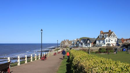 'Twixt Sea and Pine' Sheringham's Leas clifftop gardens.Picture: KAREN BETHELL