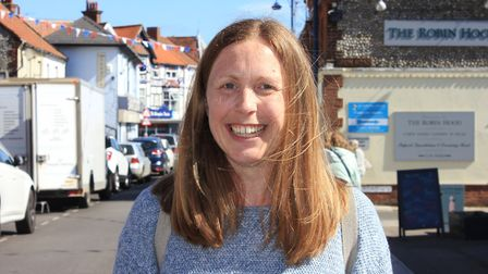 Sheringham town councillor Hazel Beazley, who is leading a new Children, Youth and Family Strategy G