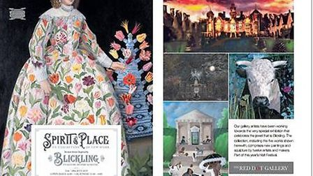 Spirit of Place exhibition on Blickling Hall at Red Dot Gallery. Pictures: Red Dot Gallery