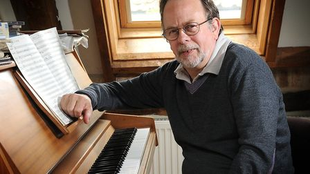 Tony Britten, composer of the Champions League theme tune. Picture: Archant