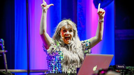 DJ Goldierocks at a past Classic Ibiza event. Photo by Simon Finlay Photography